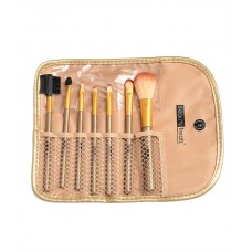 BEAUTY TREATS 7PC BRUSH SET IN POUCH